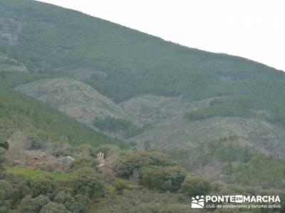 Cascadas del Aljibe;sendero rio verde;practicar senderismo